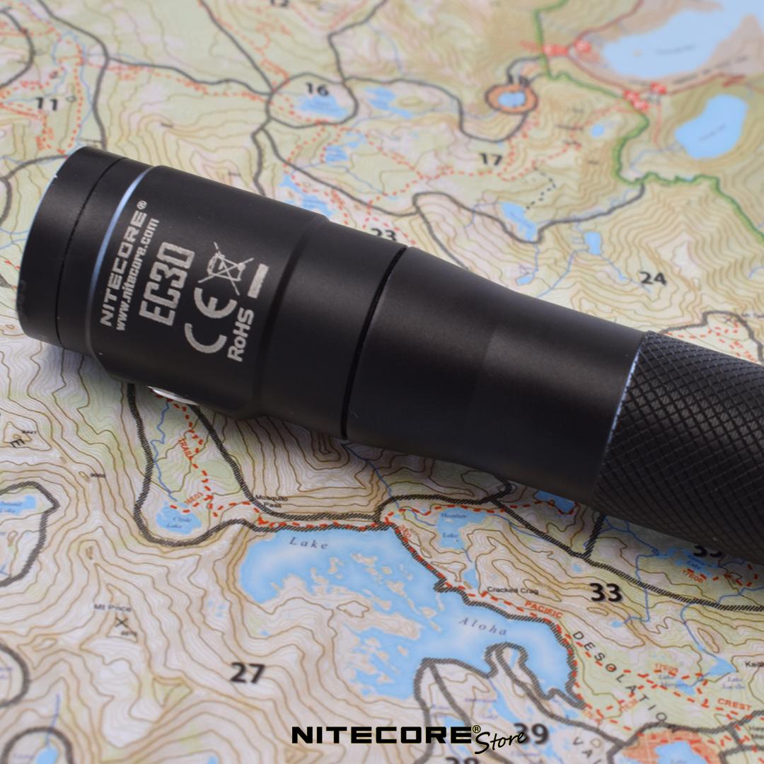 nitecore ec30 magnetic flashlight