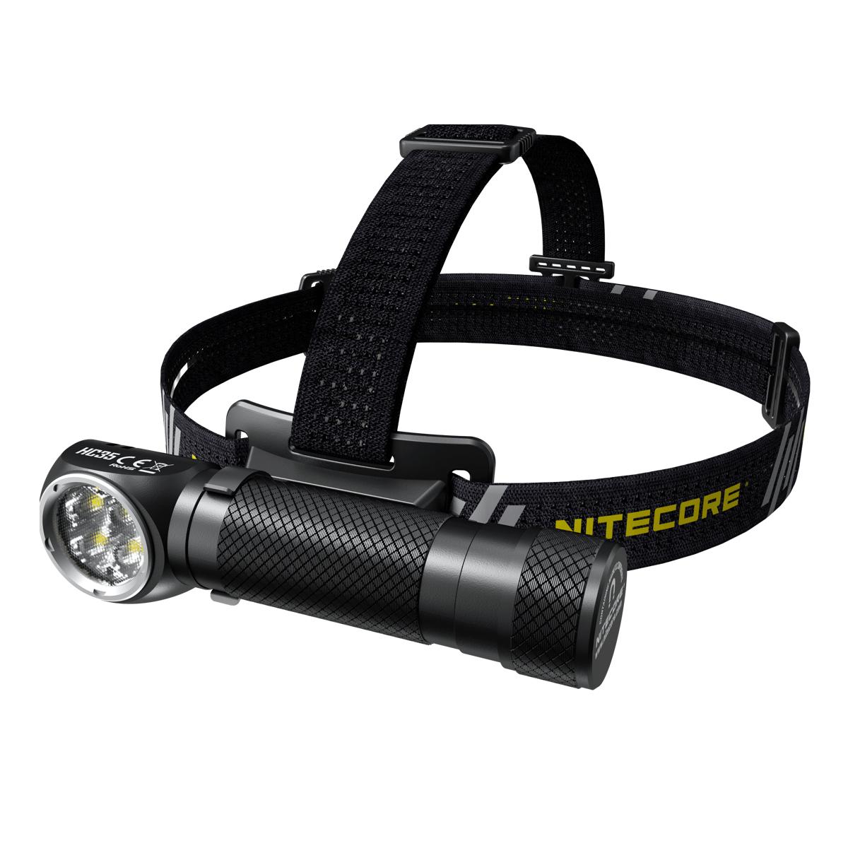 NITECORE HC35 headlamp with magnetic base