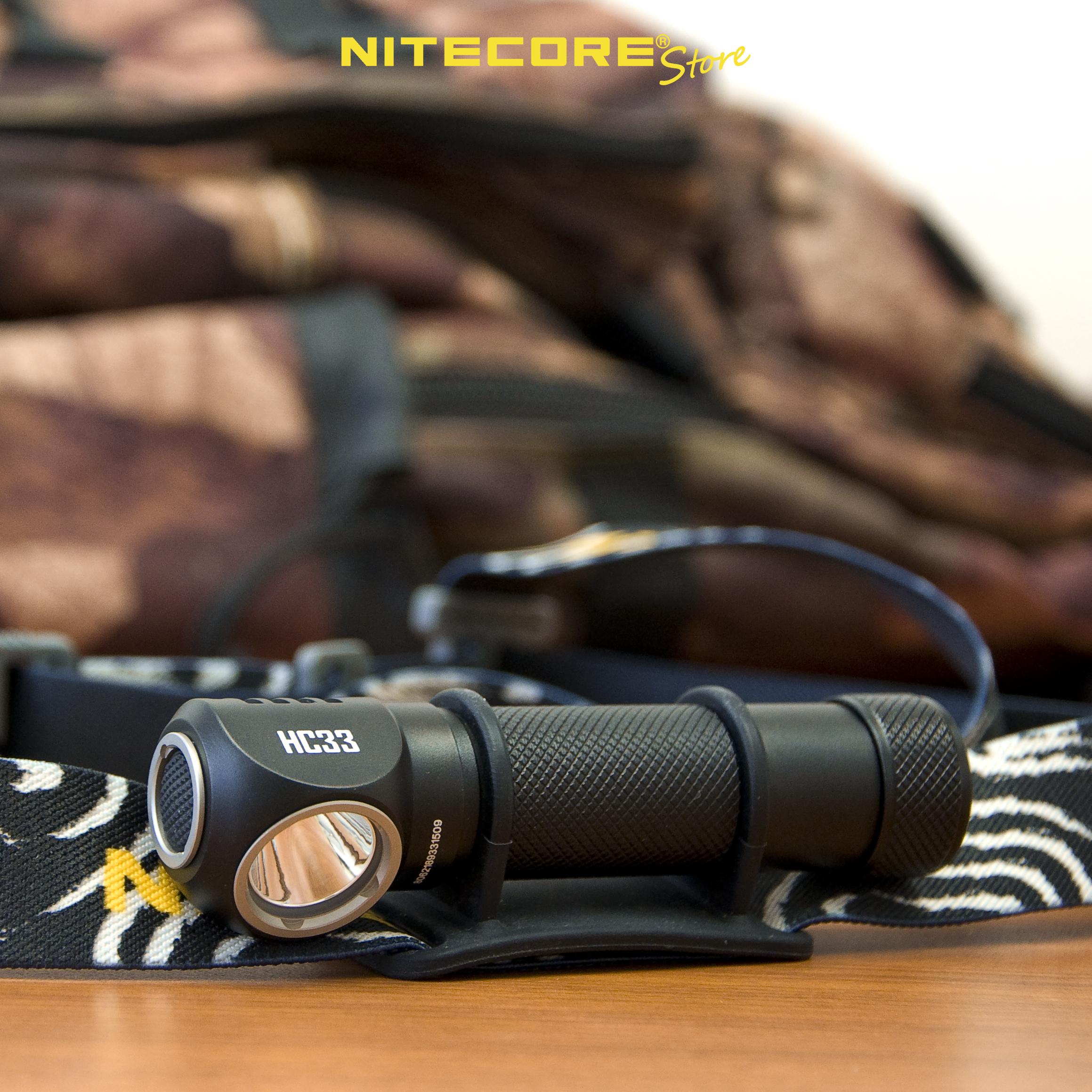 NITECORE HC33 headlamp with magnetic base