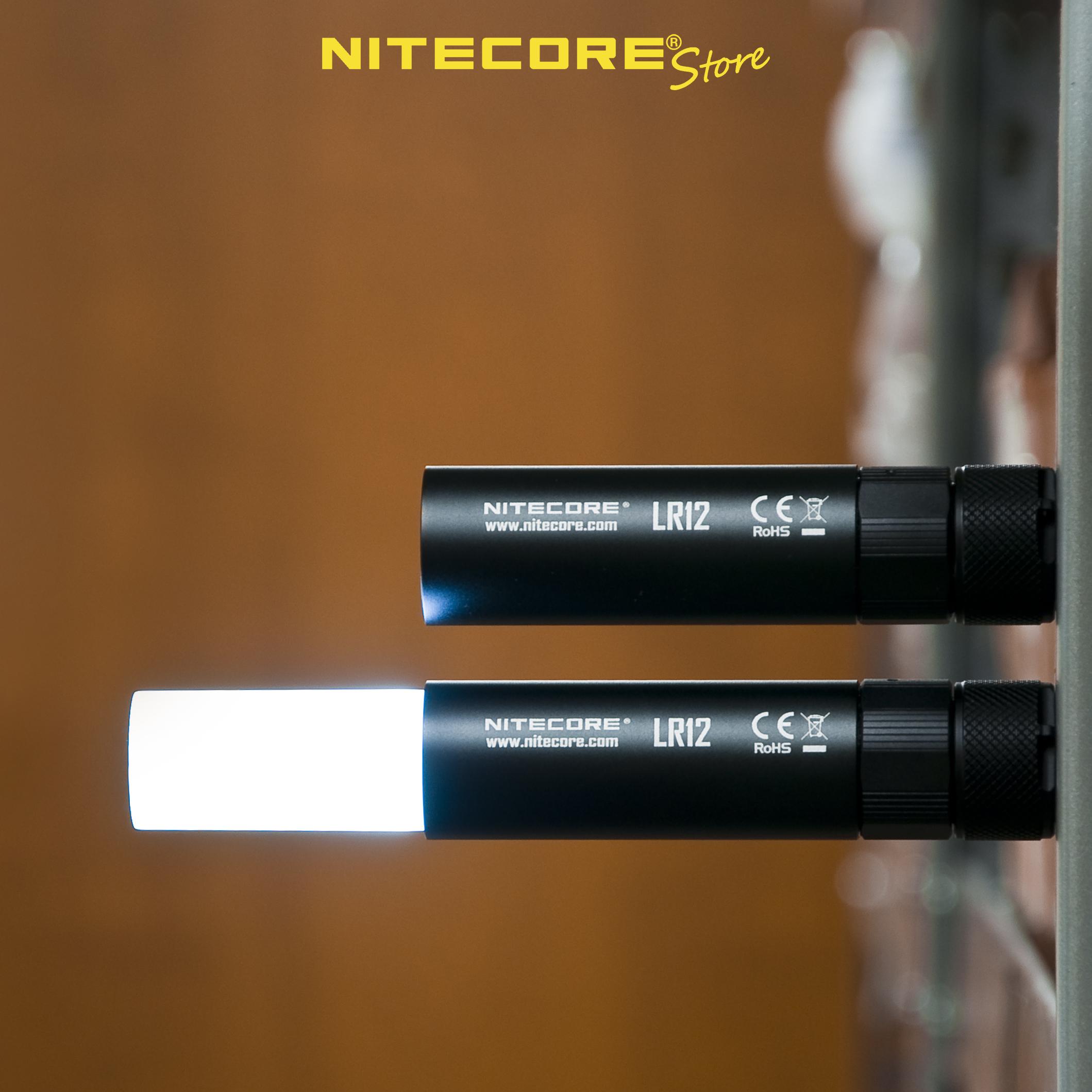 nitecore lr12 magnetic lantern flashlight