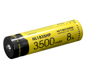 NITECORE NL1835HP 18650 8A output li-ion rechargeable battery