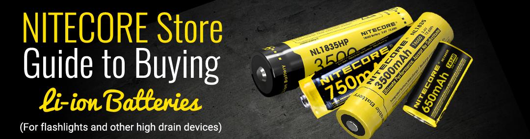 Nitecore batteries
