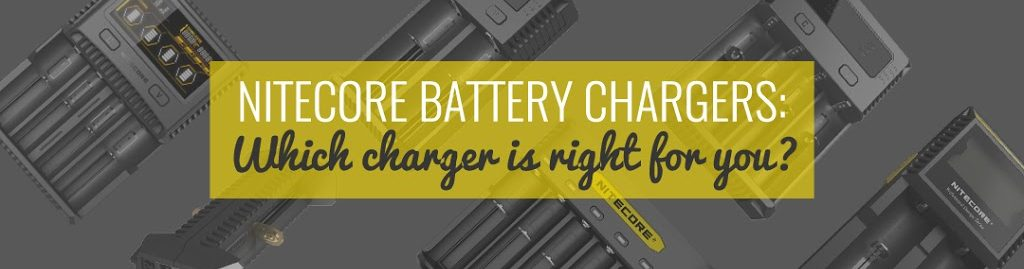 NITECORE Chargers: which charger is the right one for you?