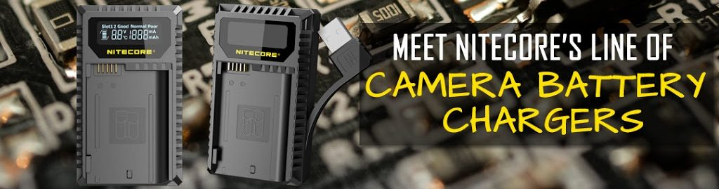 Meet NITECORE Camera Battery Chargers