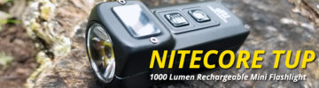 First Look at the NITECORE TUP 1000 Lumen Rechargeble Mini EDC Flashlight