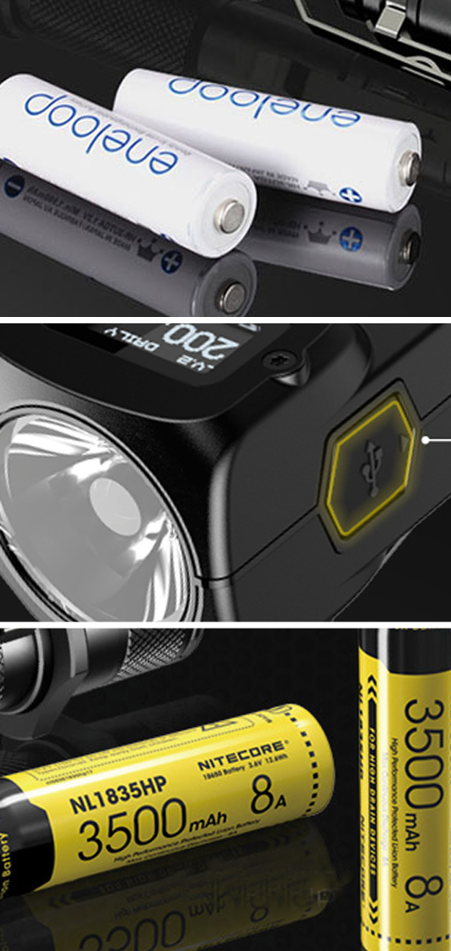 everyday carry flashlights battery and charging