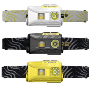 NITECORE NU25 rechargeable headlamp camping gift idea