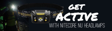 Get Active with NITECORE NU Headlamps