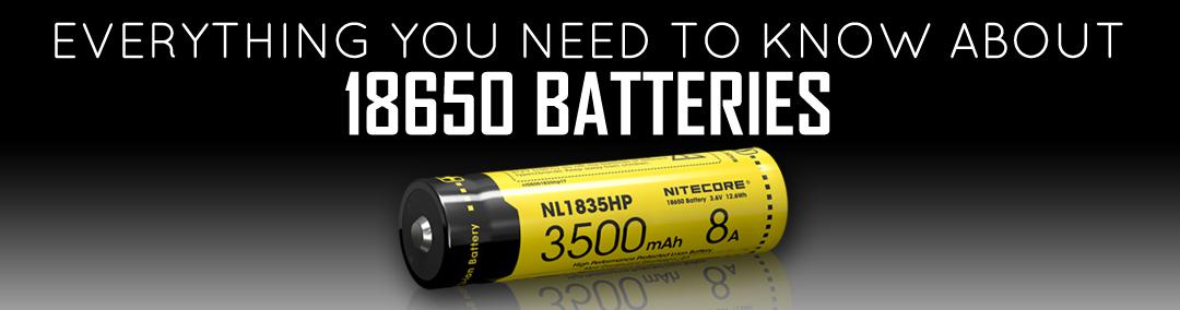 NITECORE NL1835HP 18650 button top high drain li-ion battery