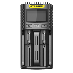 NITECORE UMS2 2-slot USB digital battery charger