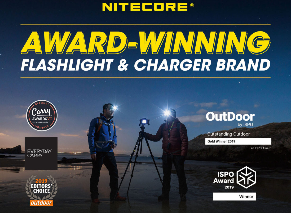 nitecore awards 2019