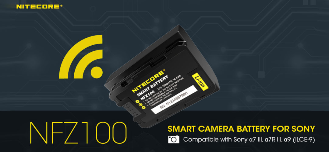 NITECORE NFZ100 Smart Battery for Sony alpha