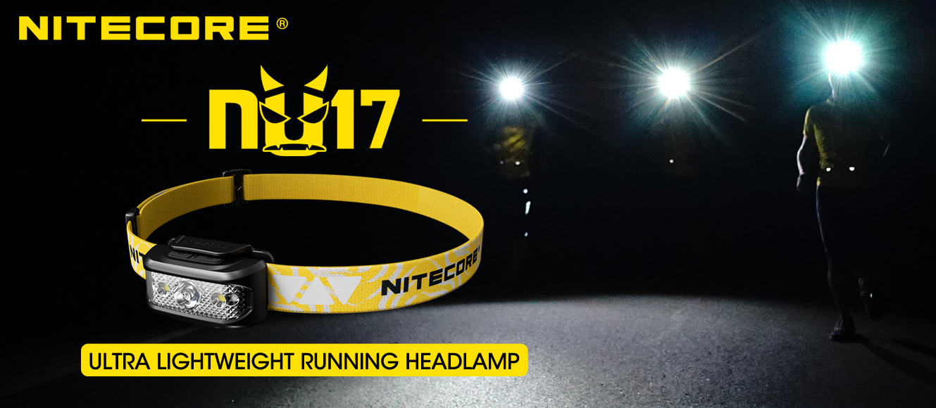 NITECORE NU17 headlamp