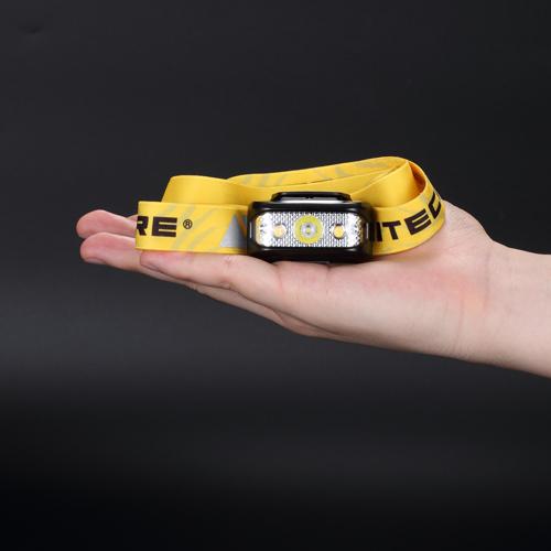 NITECORE NU17 headlamp compact size