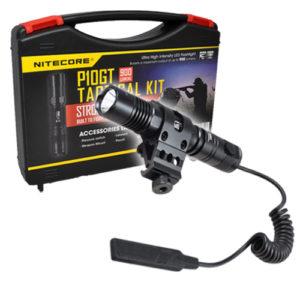 NITECORE P10GT tactical flashlight weapon mount kit gift idea