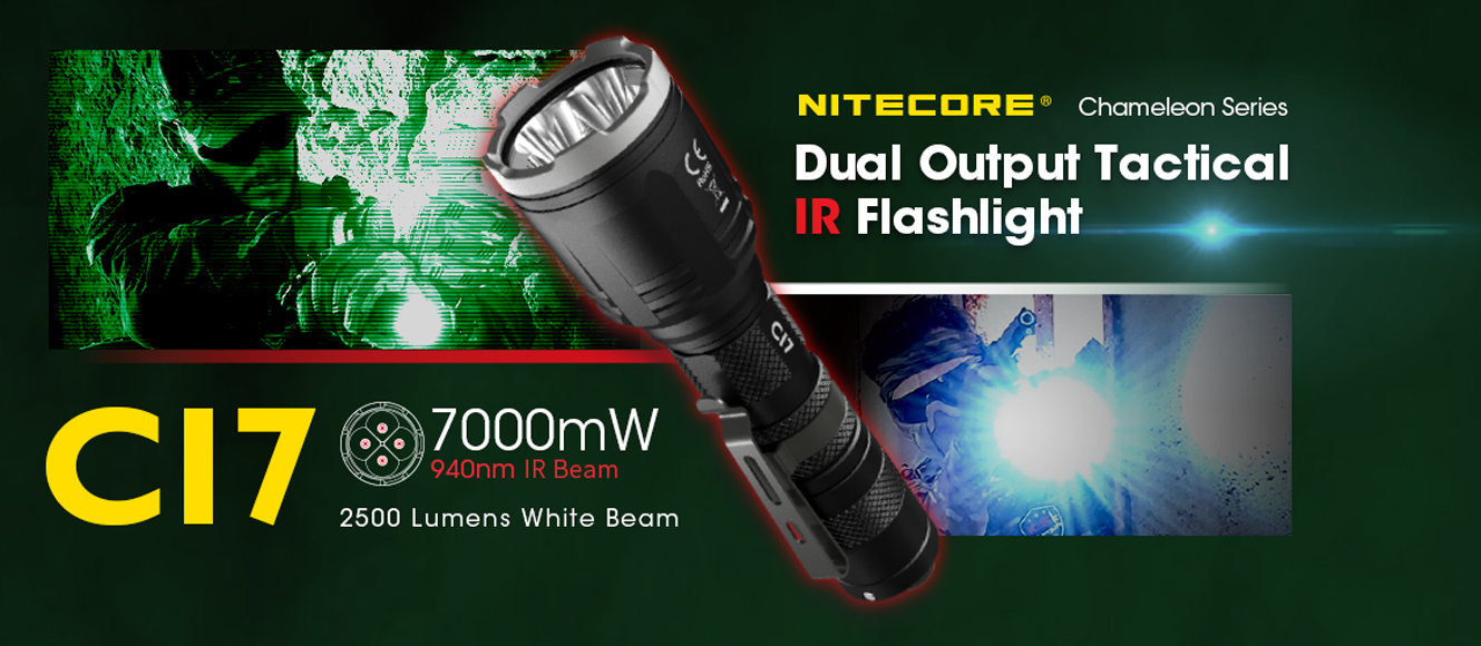 nitecore ci7 flashlight
