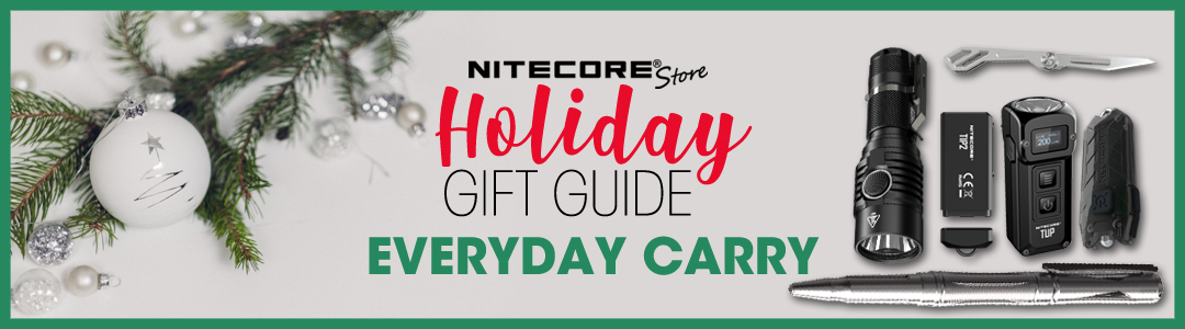 nitecore store holiday everyday carry gift guide 2019