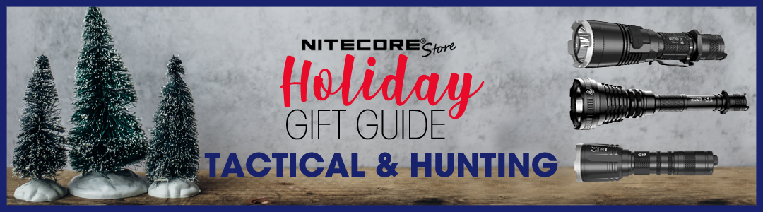 NITECORE Store Tactical and Hunting Holiday Gift Guide 2019