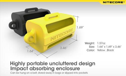 NITECORE NBM40 silicone battery magazine