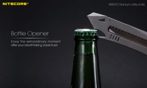 NITECORE NTK10 titanium utility knife