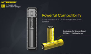 NITECORE UI1 battery charger edc gift idea