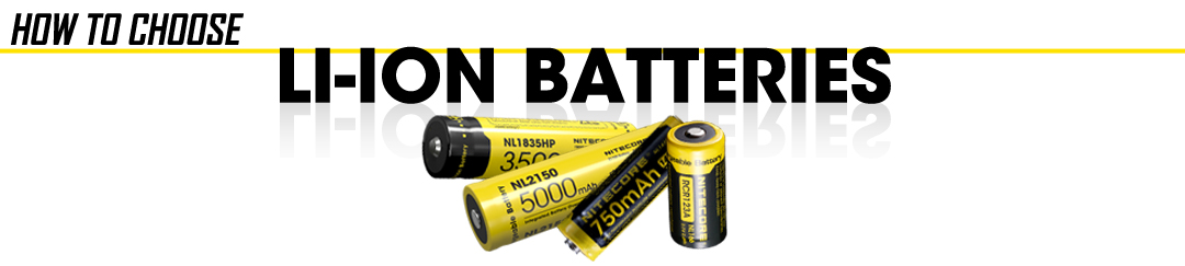 Flashlight Li-ion Battery Buying Guide Banner