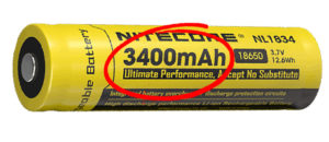 what is a battery capacity