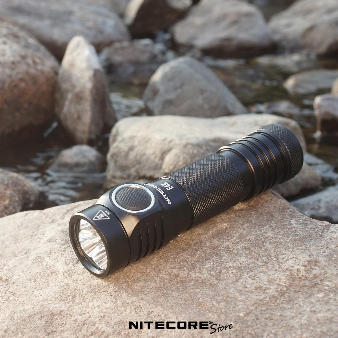 nitecore e4k edc flashlight