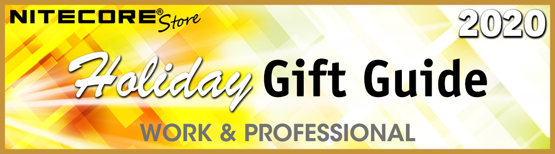Nitecore Store Holiday Gift Guide 2020 - Work and Professional