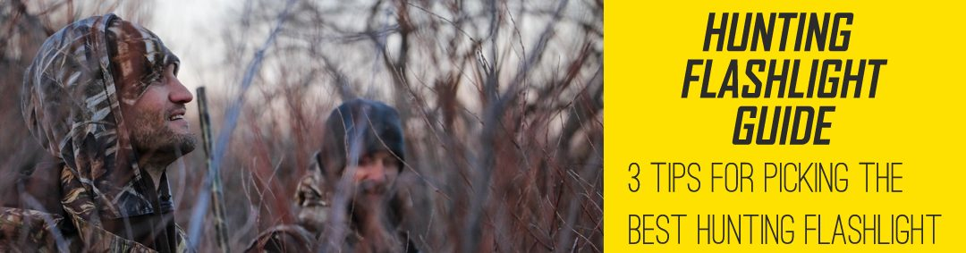 Hunting Flashlight Guide Banner